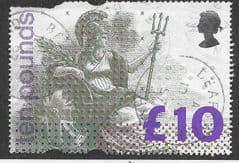 1993 £10.00 'BRITANNIA' FINE  USED*