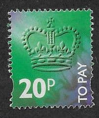 1994 20P 'TO PAYS'  FINE USED