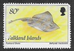 1994 80P 'FISH- FALKLAND SKATE' FINE USED*