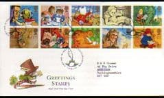 1994 'GREETINGS -MESSAGES' PENN PMK FDC