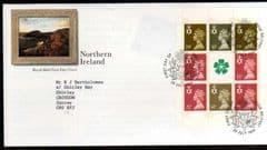 1994 'NTHN IRELAND' BOOKLET PANE FDC .