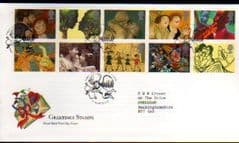 1995 'GREETINGS - IN ART' LOVER PMK FDC