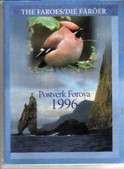 1996 FAROE YEARBOOK (OUTER COVER BROKEN)*