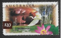 1997 $10.00 KAKADU WETLANDS' FINE USED*