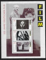 1997 '100TH ANN OF GERMAN FILM INDUSTRY' M/S FINE USED*
