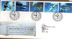 1997 ARCHITECTS OF THE AIR FDC