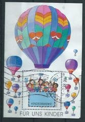 1997 'FOR US CHILDREN' M/S (POSTALLY USED)  FINE USED*