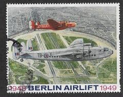 1998 'BERLIN AIRLIFT' POST LABEL FROM RETAIL BOOKLETS