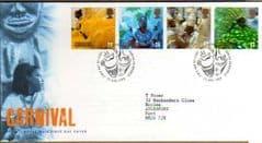 1998 CARNIVAL F.D.C 'BUREAU'