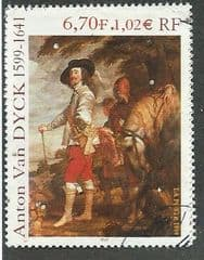 1999 6.70F 'ART - THE KING OF ENGLAND' FINE USED*