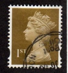 1ST CLASS 'GOLD' (2B) (PHOTO) FINE USED