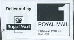 1ST CLASS POSTAGE PAID LABEL ON PAPER  REF: lon24249