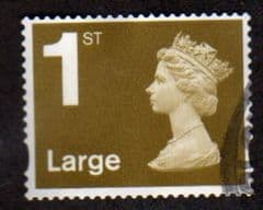 1ST (S/A) LARGE 'GOLD' (2B)  FINE USED