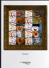 2000 SMILER SHEET,STAMP SHOW 2000 (LS1)