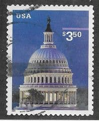 2001 $3.50 (S/A) 'CAPITOL HILL'  FINE USED*