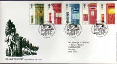 2002 '150TH ANN OF PILLAR BOX' BUREAU PMK