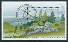 2002 56c 'HOCHHARZ NATIONAL PARK' M/S FINE USED*