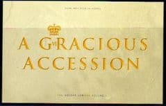 2002 'A GRACIOUS ACCESSION' PRESTIGE BOOKLET