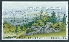 2002 'HOCHHARZ NATIONAL PARK' M/S (POSTALLY USED)  FINE USED*