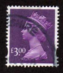 2003 £3.00 'DEEP MAUVE' FINE USED