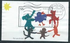 2003 'FOR US CHILDREN' M/S (POSTALLY USED)   FINE USED*