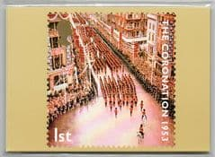 2003 (SET)'50TH ANN OF CORONATION'(253)  (10 CARDS) UNOPENED PACK