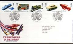2003 'TRANSPORT OF DELIGHT' FDC