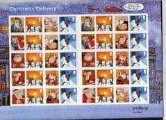 2004 SMILER SHEET'CHRISTMAS DELIVERY'LS21.