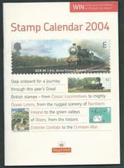 2004 'STAMP CALENDAR 2004' BOOKLET