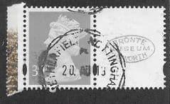 2005 39P 'MACHIN + CENTRE LABEL' FINE USED