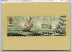 2005 (SET)'BATTLE OF TRAFALGAR'(280)  (7 CARDS) UNOPENED PACK