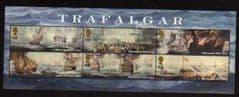 2005 U/M 'TRAFALGAR' MINIATURE SHEET