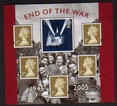 2005 U/M 'END OF THE WAR ' M/S
