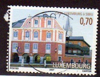 2007 70c 'CASA LUXEMBOURG' FINE USED
