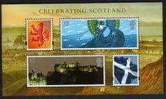 2007 U/M 'CELEBRATING SCOTLAND' M/S
