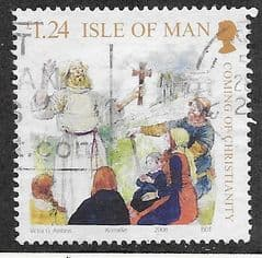 2008  £1.24   'COMING OF CHRISTIANITY' FINE USED
