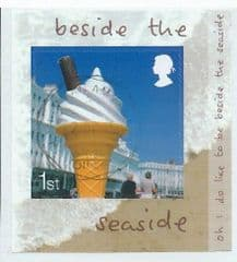 2008 1ST (S/A) 'BESIDE THE SEASIDE'  (RIGHT HAND SELVEDGE) FINE USED