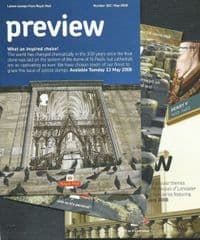 2008  3X 'PREVIEW' (NO: 177, 178, 182)  3 PAMPHLETS , EXCELLENT CONDITION