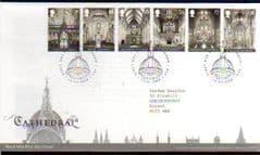 2008 'CATHEDRALS' (LONDON EC4 PMK ) F.D.C
