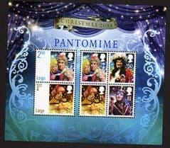 2008 U/M 'CHRISTMAS PANTOMIMES' M/S