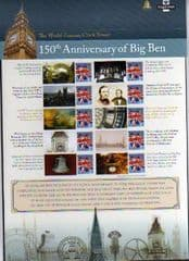 2009 '150TH ANN OF BIG BEN' SHEET