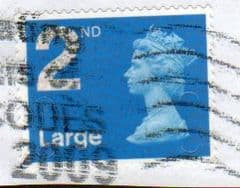 2009 2ND LARGE' SECURITY MACHIN'(OVERPRINT - NO CODES)  FINE USED