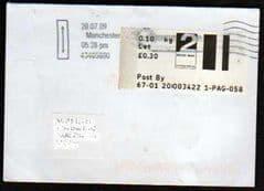 2009 2ND 'MANCHESTER SPRING GARDENS' (MACH #1).. FONT ERRORS