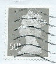 2009 50P 'GREY '(NO CODES)   FINE USED