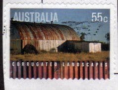 2009 55c(S/A) 'CORRUGATED  LANDSCAPES' FINE USED