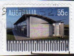 2009 55c(S/A) ' CORRUGATED LANDSCAPES ' FINE USED