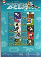 2009 'OLYMPIC GAMES' SHEET