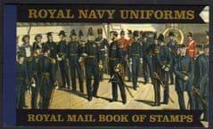 2009 ROYAL NAVY UNIFORMS PRESTIGE BOOKLET' (DX47)