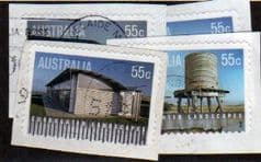 2009 SET (S/A) 'CORRUGATED LANDSCAPES'(4v) FINE USED