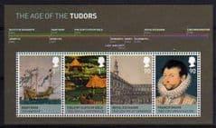 2009 U/M 'THE AGE OF THE TUDORS' M/S
